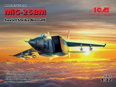 МиГ-25 БМ, Советский ударный самолет 1:72