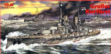Линейный крейсер «Гроссер Курфюрст» 1:350