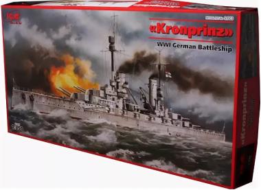 Германский линейный корабль «Кронпринц Вильгельм» 1:350