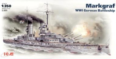Линейный крейсер  «Маркграф» 1:350