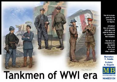 Фигуры Танкисты Первой мировой войны 1:35