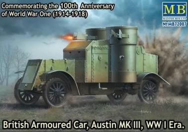 Британский бронированный автомобиль «Остин, МК III» 1 МВ 1:72