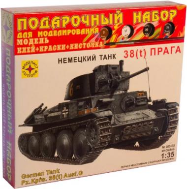 Танк 38(t) Прага подарочный набор 1:35