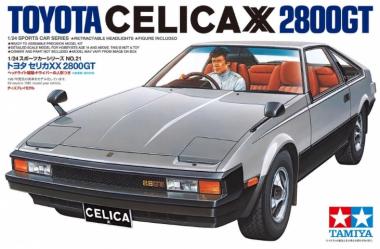 Сборная модель Toyota Celica XX 2800GT 1:24
