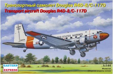 Транспортный самолет Douglas R4D-8/C-117D 1:144