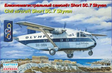 Самолет Short SC-7 Skyvan OLYMPIC 1:144