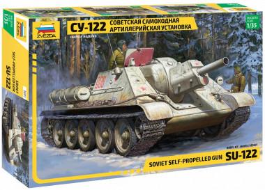 Советский истребитель танков СУ-122 /10 3691