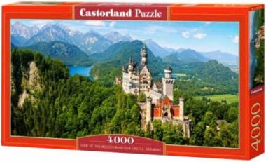 Пазл «Замок Нойшванштайн, Германия» 4000 элементов
