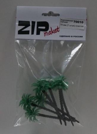 70010 Королевская пальма 70 мм (7 штук) пластик