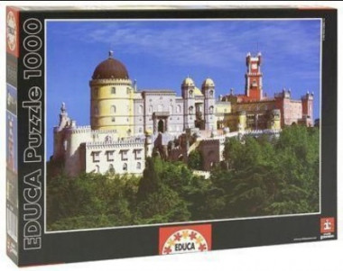 Пазл Дворец Пена Португалия 1000 деталей EDUCA 13295