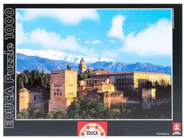 Пазл Замок Алхамбра Гранада 1000 деталей EDUCA 13766