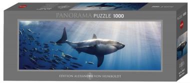 Пазл Белая акула 1000 деталей Heye 29672
