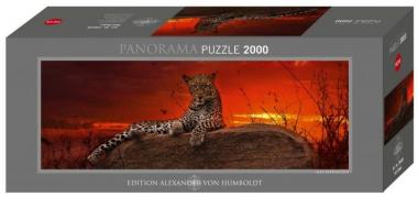 Пазл Леопард на рассвете Alexander van Humboldt 2000 деталей Heye 29608