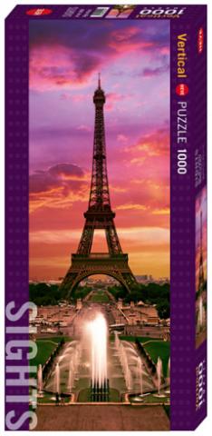 Пазл Ночь в Париже 1000 деталей