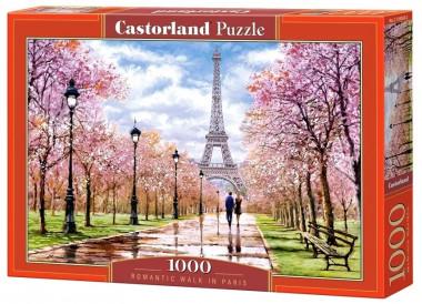 Пазл «Романтическая прогулка в Париже». Castorland 1000 элементов