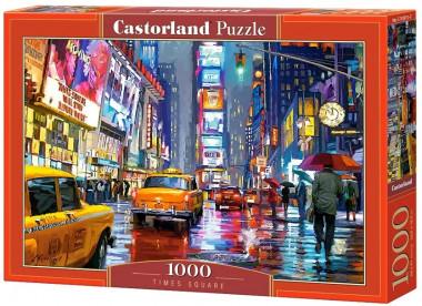 Пазл «Тайм-сквер, г. Нью-Йорк». Castorland 1000 элементов