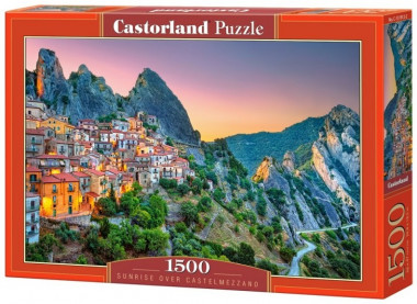 Пазл «Рассвет над Кастельмедзано. Италия». Castorland 1500 элементов