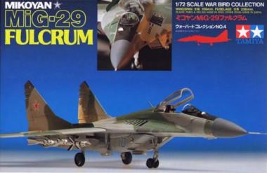 Сборная модель 1/72 МиГ-29 Fulcrum