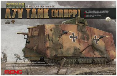 Сборная модель German A7V Tank Krupp 1:35