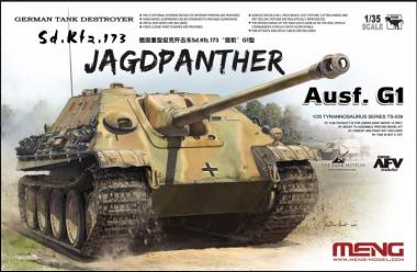 Сборная модель Tank Destroyer Sd.Kfz. 173 Jagdpanther Ausf. G1 1:35