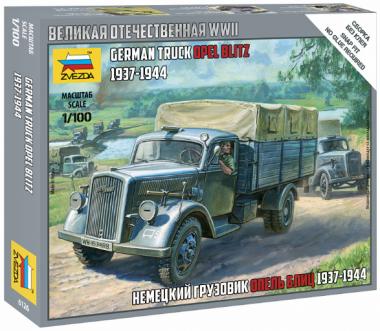 Немецкий грузовик Опель-Блиц 1:100