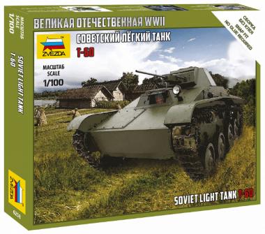 Легкий танк Т-60 1:100