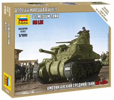 Американский танк Ли 1:100
