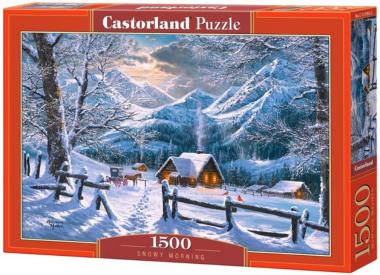 Пазл «Снежное утро» 1500 элементов