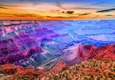 Пазл 4000 США. Аризона. Большой каньон