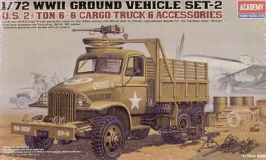 Грузовик армии США 2,5 тонный грузовик 1:72