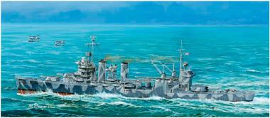 модель Корабль крейсер СА-37 Тускалуза 1:700