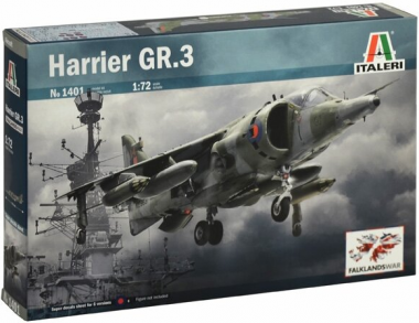 Самолет HARRIER GR.3 FALKLANDS WAR 1:72