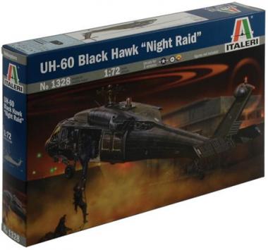 Вертолет UH-60/MH-60 BLACK HAWK NIGHT RAID 1:72
