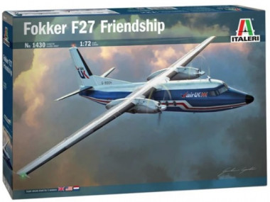 Сборная модель 1430 самолёт Fokker F27 Friendship (1:72)