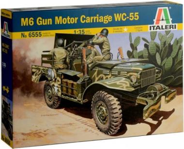 Автомобиль M6 Gun Motor Carriage WC-55 1:35