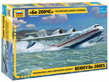 Сборная модель Российский самолет-амфибия Бе-200ЧС 1:144
