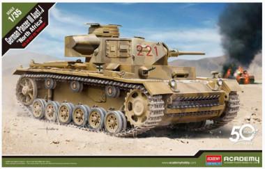 Сборная модель Panzer III Ausf. J North Afrika 1:35