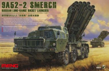 9A52-2 Smerch Russian Long-Range Rocket Launcher 1:35