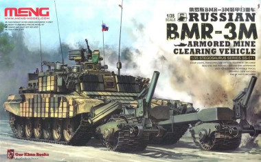 Russian BMR-3M Armored Mine Clearing Vehicle 1:35