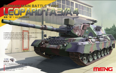 German Main Battle Tank Leopard 1 A3/A4 1:35