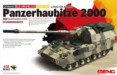 German Self-Propeled Howitzer Panzerhaubitze 2000 1:3