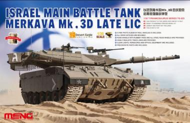 Israel Main Battle Tank Merkava Mk.3D Late LIC 1:35