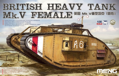 British Heavy Tank Mk.V Female 1:35