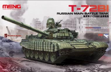 Russian T-72B1 Main Battle Tank 1:35