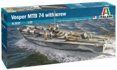 Vosper MTB 74 with crew 1:35