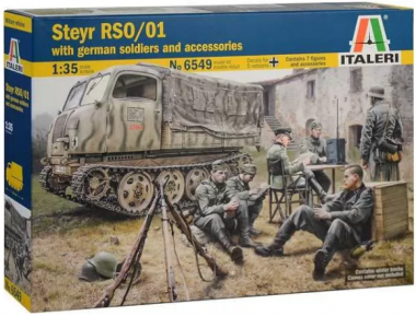 STEYR RSO/01 with GERMAN SOLDIERS 1:35