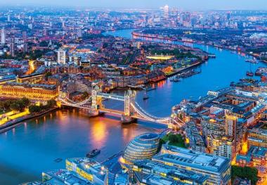 Пазл «Лондон с высоты птичьего полета» 1000 элементов