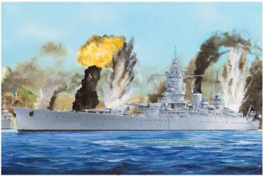 French Navy Battleship Dunkerque 1:350