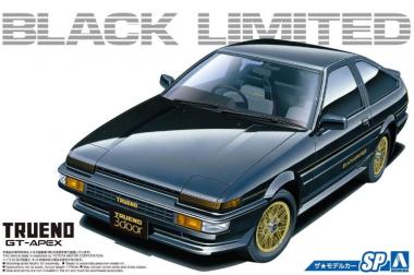 Toyota Ae86 Sprinter Trueno Gt-Apex Black Limited '86 1:24