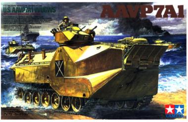 Бронетранспортер Marine AAVP7A1 1:35